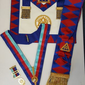 Royal Arch Embroidered Apron Badge - Frame Regalia
